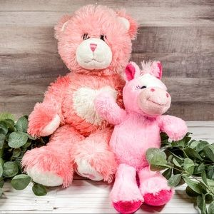 Pink Heart Build A Bear (Vintage from ~2010)
